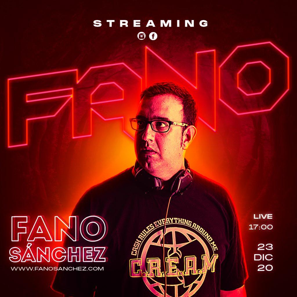 Cartel Fano Sanchez Streaming Navidad Diciembre 2020