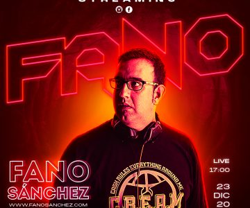 Fano Sánchez – Streaming 23 Diciembre 2020