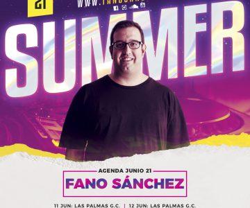 Fano Sánchez – Agenda Junio 2021