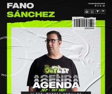 Agenda Fano Sánchez – Septiembre Octubre 2021