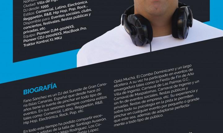 Fano Sánchez Press Kit