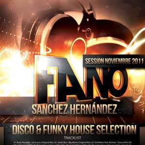 Fano Sanchez – Sesión Noviembre 2011