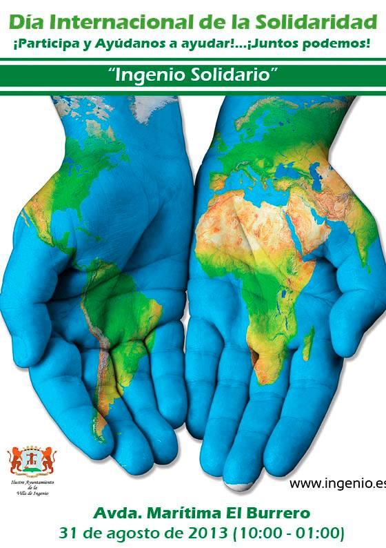 Día Internacional de la Solidaridad en Ingenio 2013