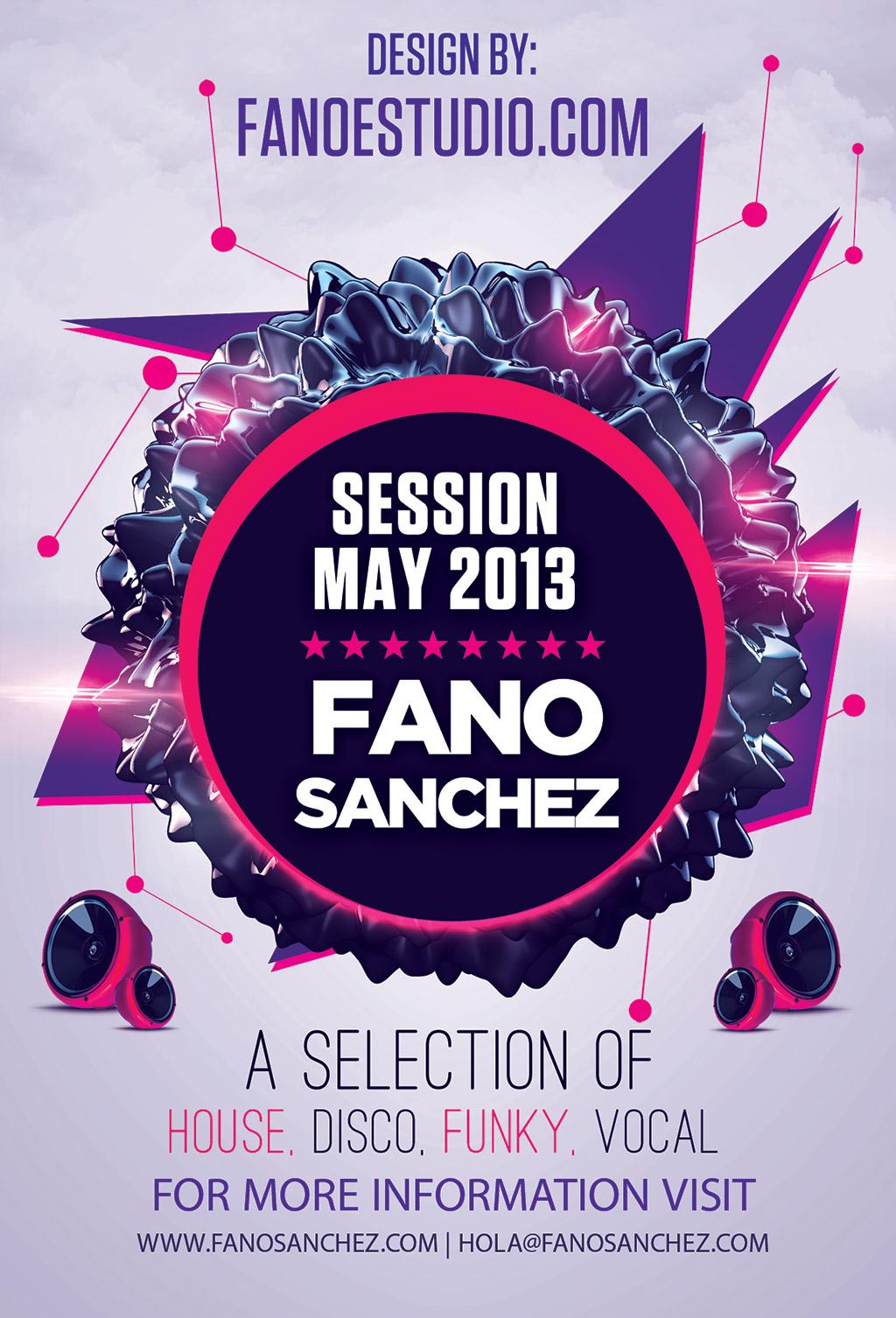 Fano Sánchez – Sesión Mayo 2013