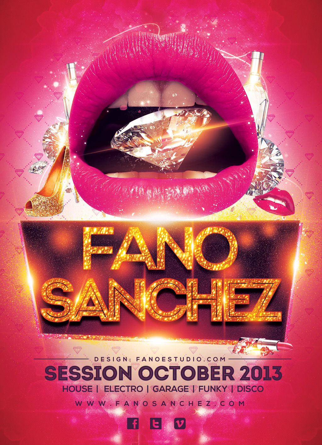 Fano Sánchez – Sesión Octubre 2013