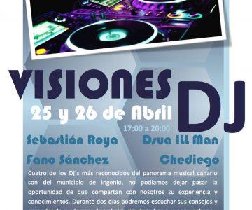 Promo Visiones DJ en Espacio Creativo Ingeniojoven