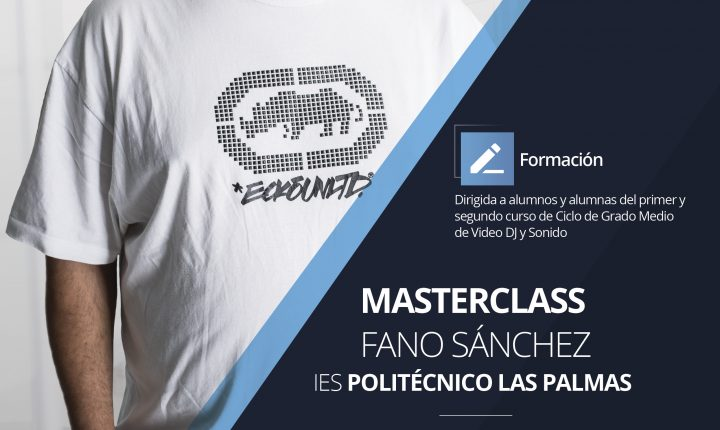Masterclass Fano Sánchez en IES Politécnico Las Palmas Marzo 2018