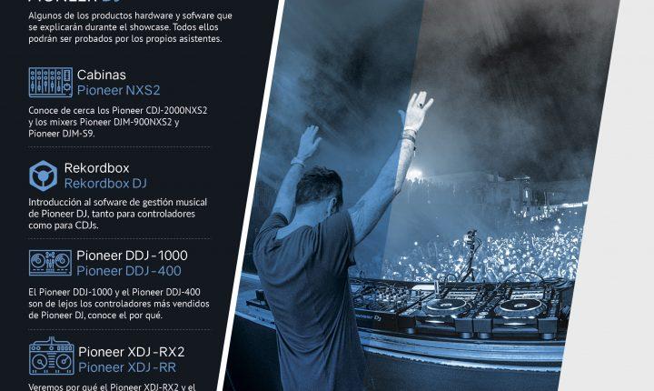 Showcase Pioneer DJ Noviembre 2018