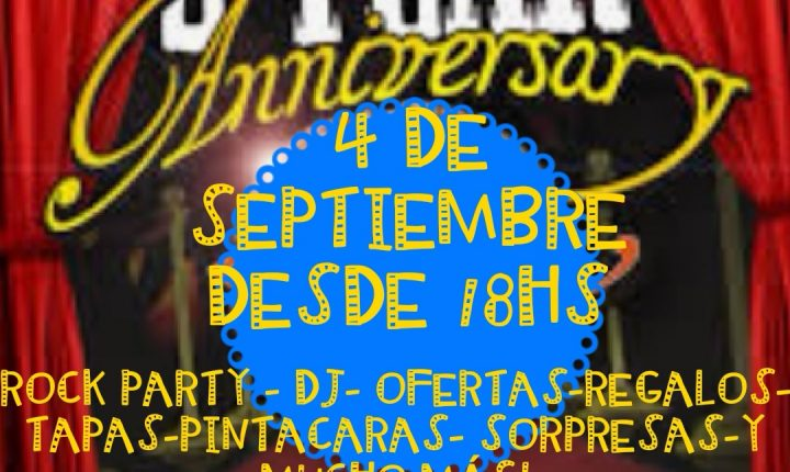 Fano Sánchez – 2º Aniversario de Jungle Rock Mogán Septiembre 2019