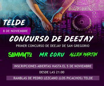 Jurado Concurso DJs Telde 2019