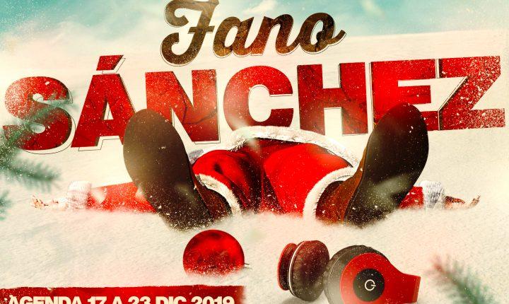 Fano Sánchez – Agenda 17 a 23 Diciembre 2019