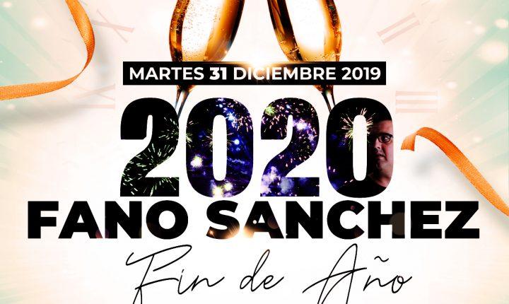 Fano Sánchez – Fiesta Fin de Año Villa de Ingenio 2020