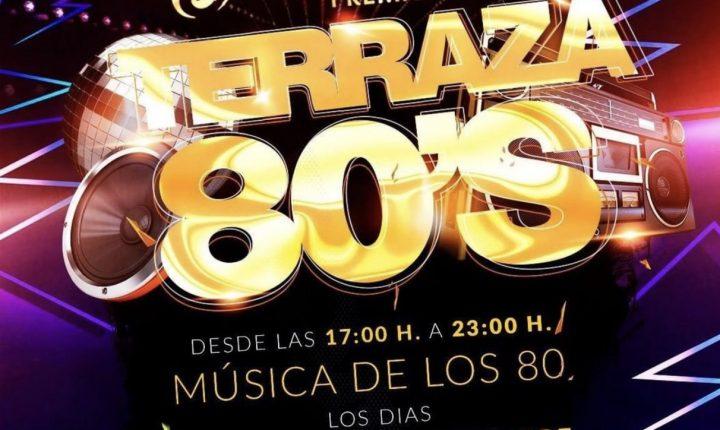 Terraza 80s Sotavento Club 2019