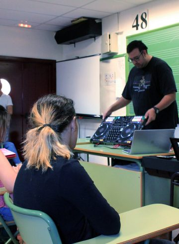 Curso Profesores Ciclos DJ Canarias 7 Noviembre