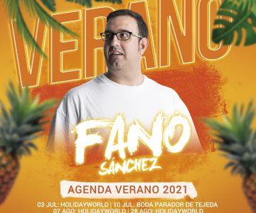 Fano Sánchez – Agenda Verano 2021