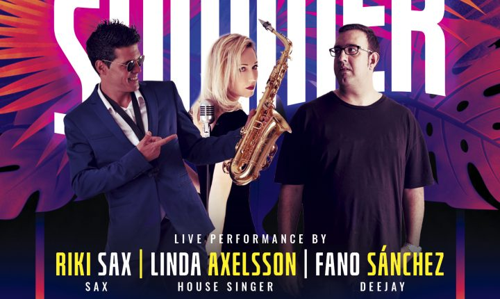 Riki Sax & Fano Sánchez Holidayworld Maspalomas 7 Agosto 2021